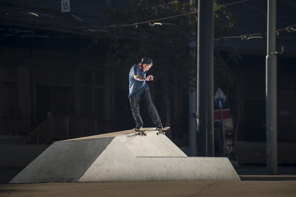 Justin Strubing - Wallie BS Tailslide