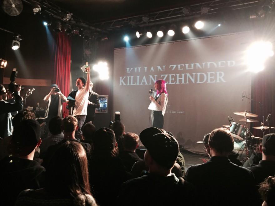 Rookie of the year Kilian Zehnder