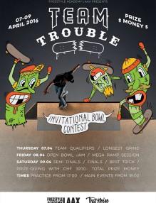 Team Trouble Laax 2016