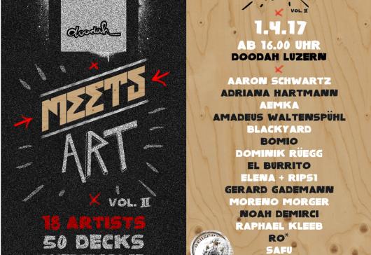 Comic and Skateboard – Doodah Meets Art Vol. 2