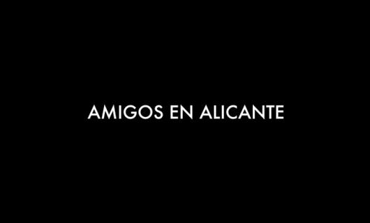 Amigos en Alicante