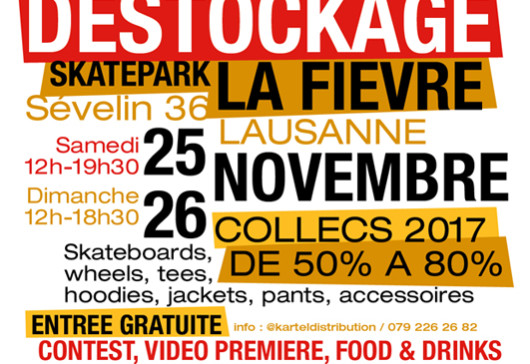 Destockage Kartel Distribution & ArtBoard Use. – 25.11.2017