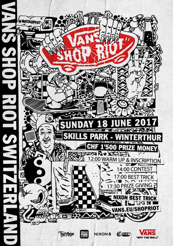 Vans Shop Riot 2017